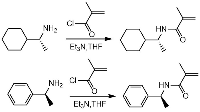 Example of amidation reaction