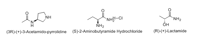 Examples of chiral amides