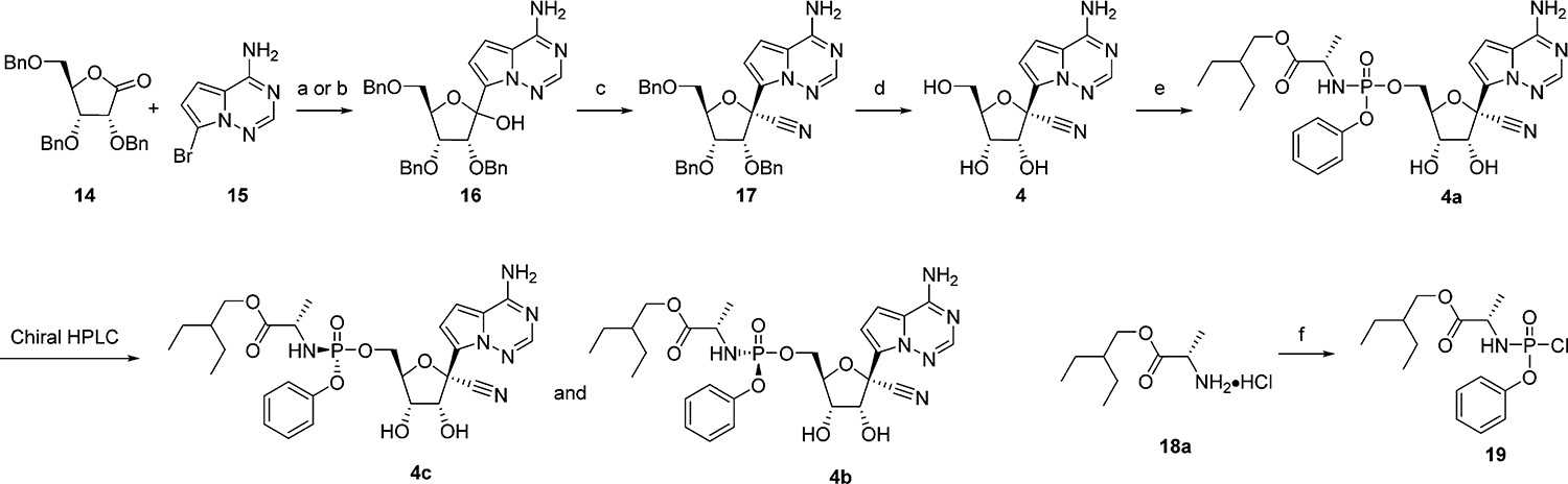 First Generation Synthesis of 4ba